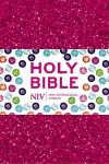 NIV Ruby Pocket Bible, Pink Glitter, Flexible Cover
