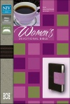 NIV, Women's Devotional Bible, Compact, Blue Imitation Leather
