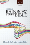 KJV Rainbow Study Bible Paperback Edition