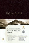 CSB Gift & Award Bible Burgundy Imitation Leather - GAB