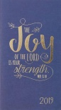 2019 The Joy of the Lord is Your Strength 24-Month Daily Planner