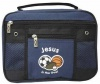 Bible Cover Kids Navy Canvas with Rubber Patch - Jesus is the Goal, Large - BIC