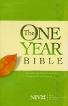 NIV One-Year Bible, Arranged in 365 Daily Readings