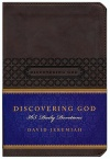 Discovering God: 365 Daily Devotions, Brown Soft Leather-Look