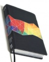 KJV Holman Rainbow Study Bible, Kaleidoscope Black Leather-Touch