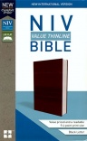 NIV Value Thinline Bible Burgundy