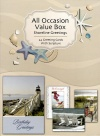 All Occasion Value Box Greting Cards Shoreline Greetings (Box of 24)