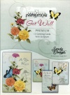 Get Well Cards - Butterflies  (Box of 12)