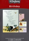 Birthday Cards - If Life is Measured (Box of 12)
