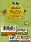 Birthday Premium Cards - Delight in Life  (Box of 12)