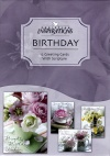 Birthday Cards, Teacup Wishes  (Box of 12)