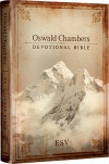 ESV Oswald Chambers Devotional Bible, Hardback Edition