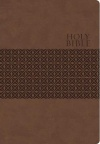 KJV Giant Print Reference Rustic Brown Leathersoft Edition