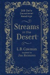 Streams in the Desert: 366 Daily Devotional Readings, Hardback Edition