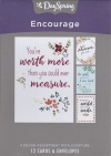 Encourage Cards - You're Worth More  (Box of 12)