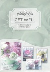 Get Well Cards - Teacup Wishes  (Box of 12)