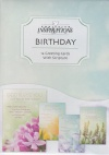 Birthday Garden Blooms Cards, Box of 12
