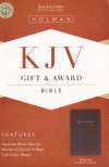 KJV Gift & Award Bible Burgundy Imitation Leather - GAB