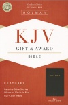 KJV Gift & Award Bible Black Imitation Leather - GAB