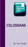Colossians - Pocket Commentary Series - PCS