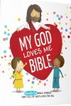 My God Loves Me Bible, Board Book