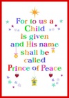 Christmas Cards - For to us a Child - Pack of 10 - CMS
