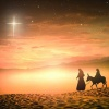 Christmas Cards - Mary and Joseph - Pack of 10 - CMS