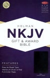 NKJV Gift and Award Bible, Black Imitation Leather - GAB - Value Pack of 20 = £4.79 - VPK