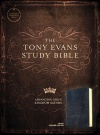 CSB Tony Evans Study Bible, Black Genuine Leather