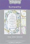 Sympathy Cards - Peace of God with Passeth, KJV Text - Box of 12