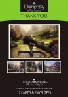 Thank You Cards - Thomas Kinkade - Box of 12
