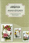 Anniversary Card - A Lifelong Love, Deluxe Diecut, Box of 12