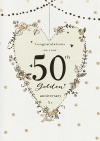 Anniversary Card - Congratulation on Your 50th Golden Anniversary - ICG HI8537