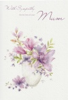 Sympathy Card - With Sympathy on the Loss of Your Mum - ICG HI8511