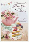 Birthday Card - For A Special Auntie on Your Birthday - ICG HI8700