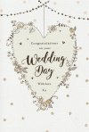 Wedding Day Card - Congratulation on Your Wedding Day - ICG JJ8191