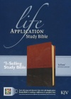 KJV Life Application Study Bible 2nd Edition, Brown/Tan TuTone