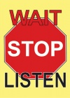 Tract - WAIT STOP LISTEN  (Pack of 100)