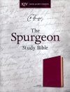 KJV Spurgeon Study Bible, Crimson Soft LeatherTouch