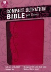 HCSB Compact Ultrathin Bible for Teens, Fuchsia Leathertouch