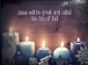 Christmas Card - Five Candles - Pack of 10 - CMS