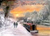Christmas Card - Christmas on the Canal - GM - Pack of 10