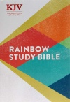 KJV Rainbow Study Bible, Hardback Edition