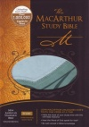NASB Macarthur Study Bible Personal Size: Green Leathersoft