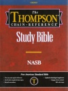 NASB Thompson Chain Reference: Genuine Leather - Black
