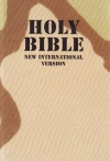 NIV Compact Bible - Camouflage Desert Cover (1984 Edit)