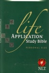 NLT Life Application Study Bible - Personal Size