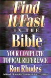 Find it Fast in the Bible **