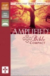 Amplified Bible Compact Edition Camel Burgundy Duo-Tone