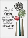 Card - Be Joyful in Hope